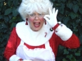 Mrs. Claus! Delightful, multi-talented holiday entertainment by Mrs. Claus!