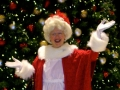 Mrs. Claus lights up the holiday season!