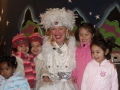 Holiday show as Snow Princess at LA Zoo