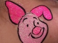 Piglet cheek art