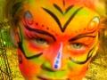Intricate full face design