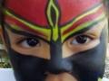 Superhero full face design