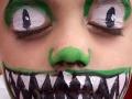 Full dragon face